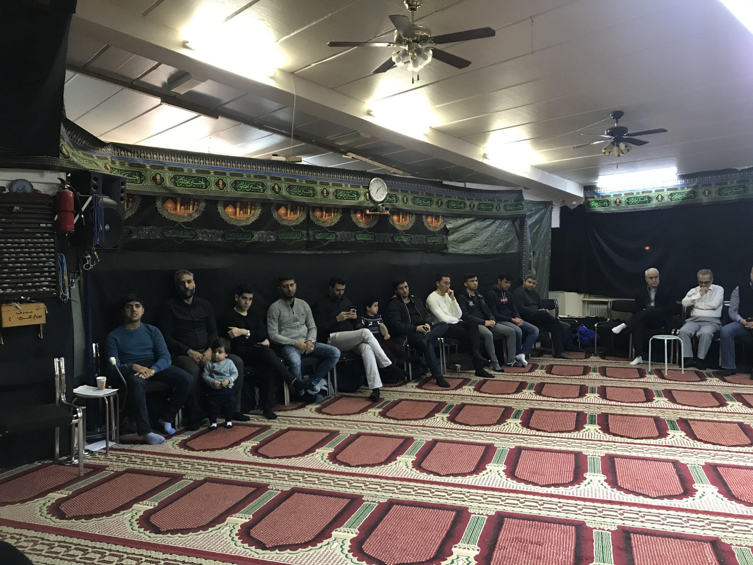 برگزاری مراسم عزاداری شهادت حضرت فاطمه زهرا(س)